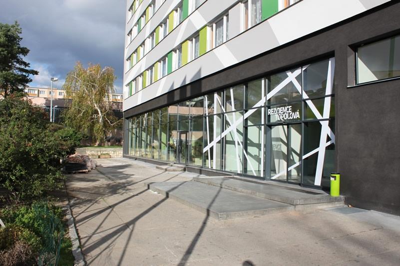 Multifunknčí ubytovací komplex - Rezidence Topolová - Praha