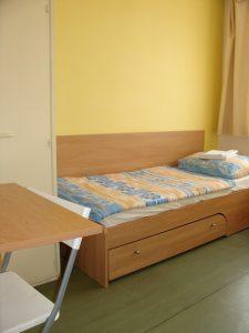 Levné ubytování - hostel Praha 10 - postel