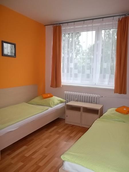 Levné ubytování Praha - penzion - pokoj