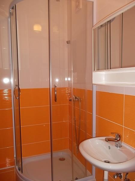 Levné ubytování Praha - penzion - koupelna