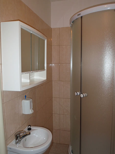 Levné ubytování v Praze - Apartmán 306 - koupelna