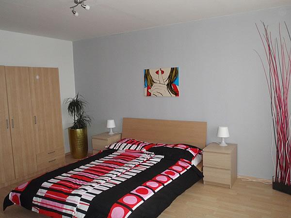 Levné ubytování v Praze - Apartmán 406 - ložnice