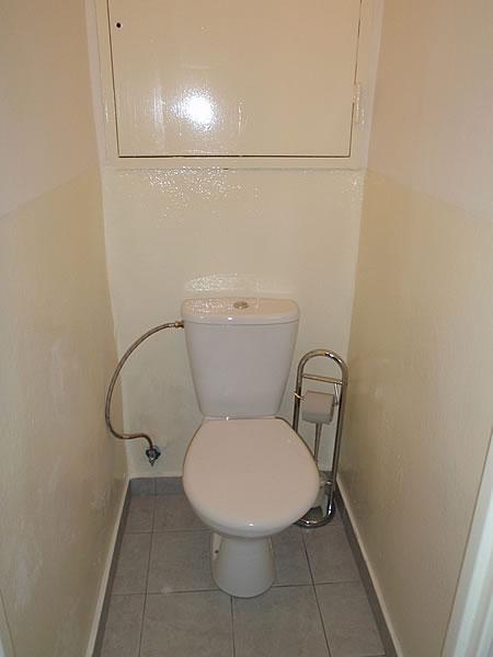 Levné ubytování v Praze - Apartmán 406 - toaleta