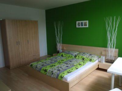 Levné ubytování v Praze - Apartmán 206 - pokoj