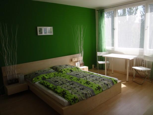 Levné ubytování v Praze - Apartmán 206 - ložnice